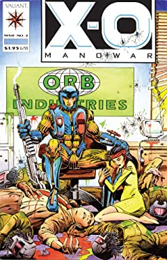 X-O Manowar (1992-1996) No.2