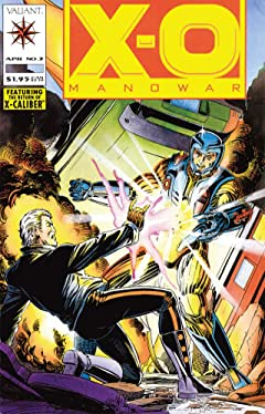 X-O Manowar (1992-1996) No.3