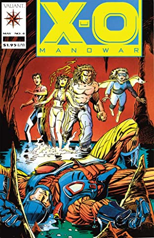 X-O Manowar (1992-1996) No.4