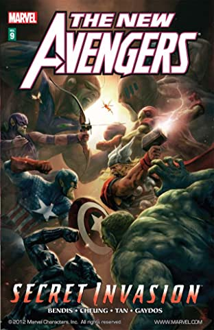 New Avengers Vol. 9: Secret Invasion Book 2