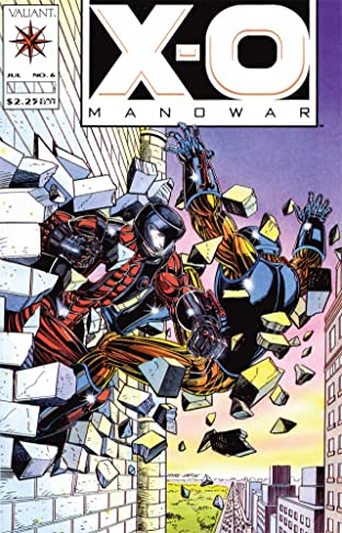 X-O Manowar (1992-1996) No.6