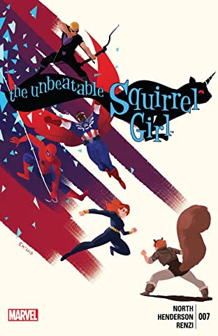 The Unbeatable Squirrel Girl (2015) No.7