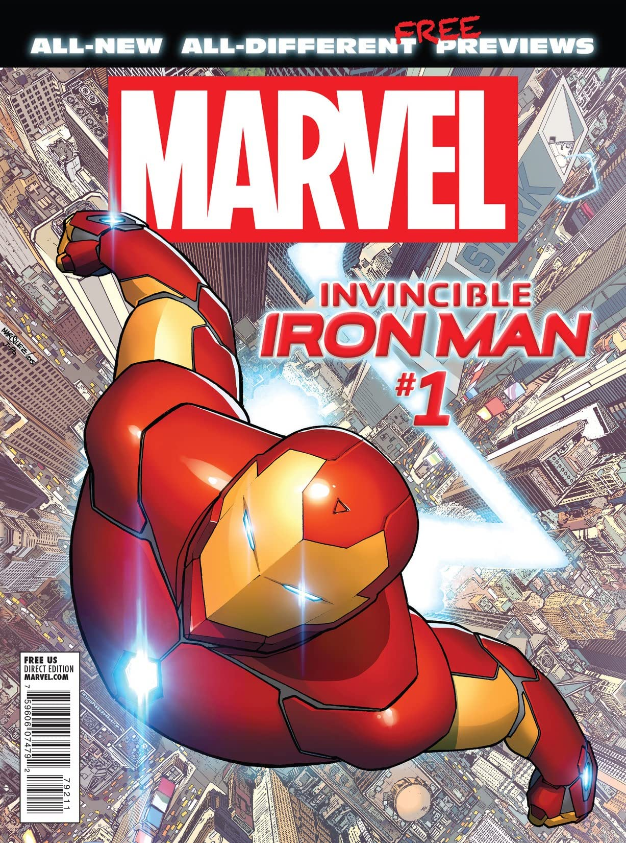 All-New, All-Different Marvel Previews #1