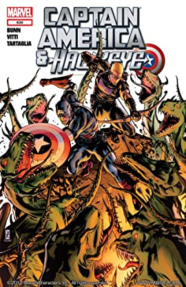 Captain America and Hawkeye #630