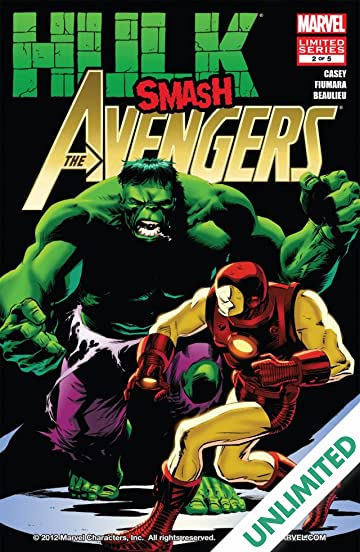 Hulk Smash Avengers #2 (of 5)