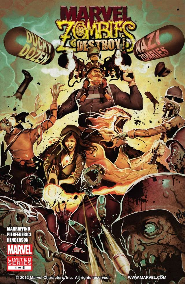 Marvel Zombies Destroy #1 (of 5)