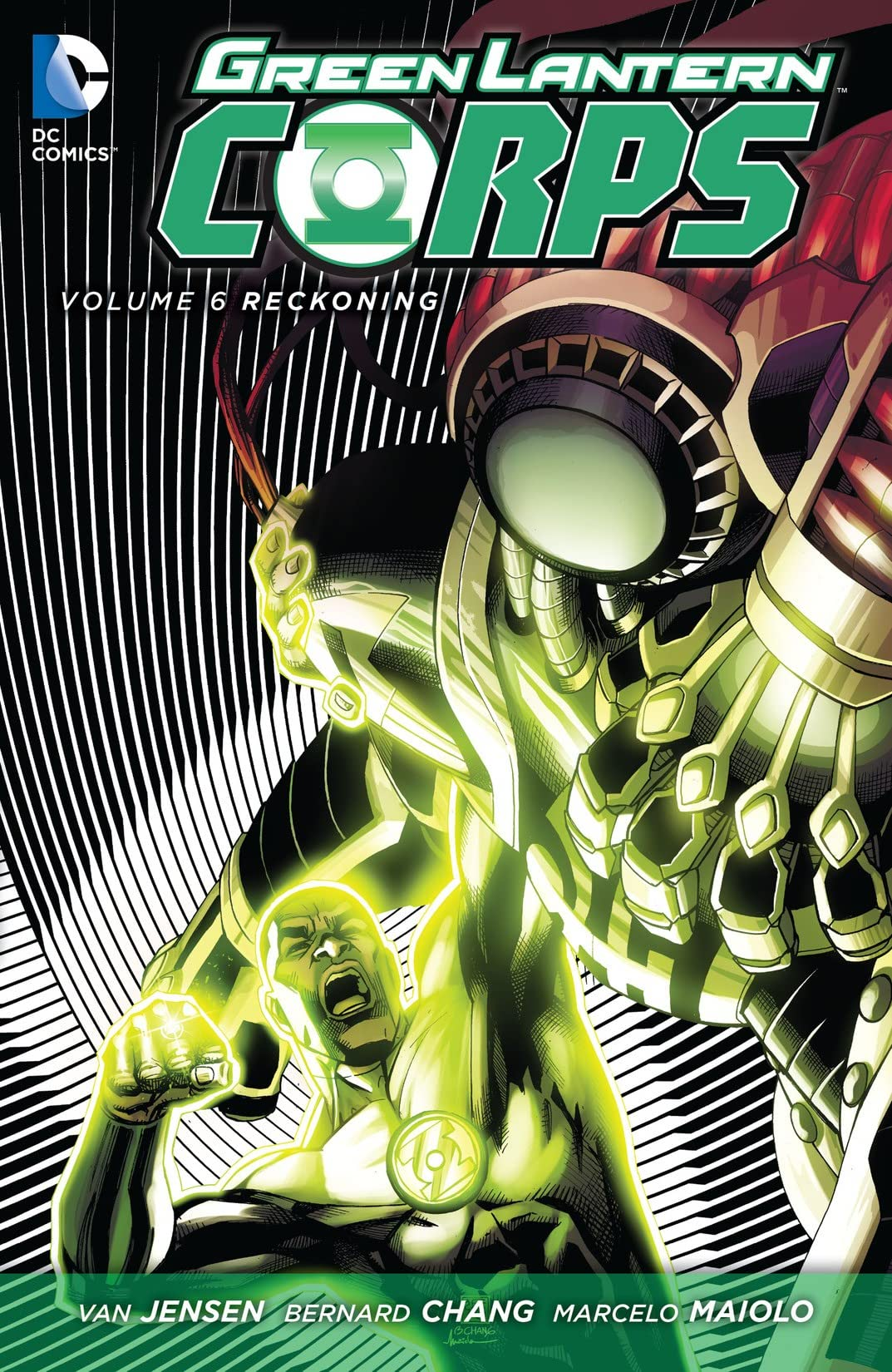 Green Lantern Corps (2011-2015) Vol. 6: Reckoning