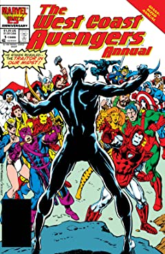 Avengers West Coast (1985-1994) Annual #1