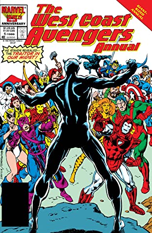 Avengers West Coast (1985-1994) Annual No.1