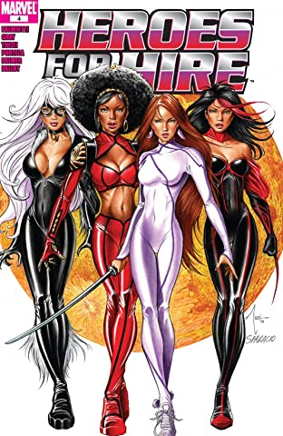Heroes For Hire (2006-2007) No.4