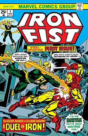 Iron Fist (1975-1977) No.1