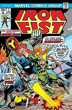 Iron Fist (1975-1977) #3