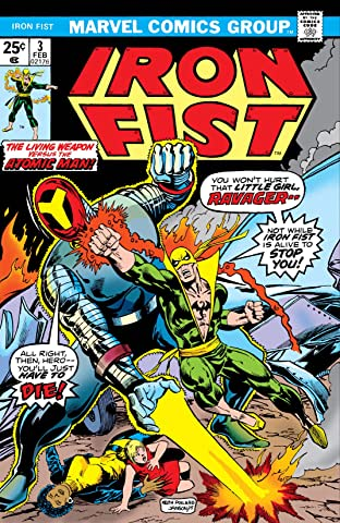 Iron Fist (1975-1977) No.3