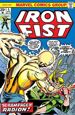 Iron Fist (1975-1977) No.4