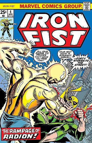 Iron Fist (1975-1977) #4
