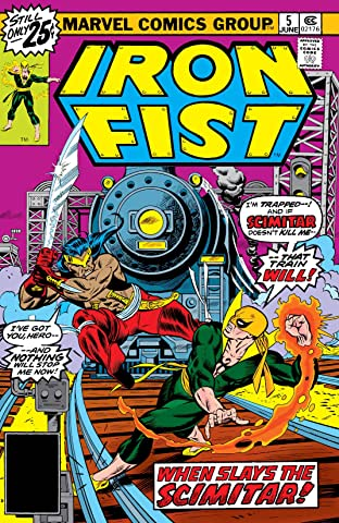 Iron Fist (1975-1977) No.5