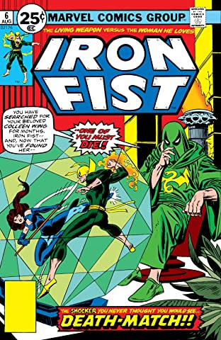 Iron Fist (1975-1977) No.6