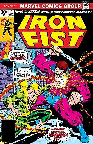 Iron Fist (1975-1977) #7