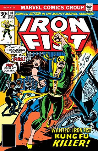 Iron Fist (1975-1977) No.10