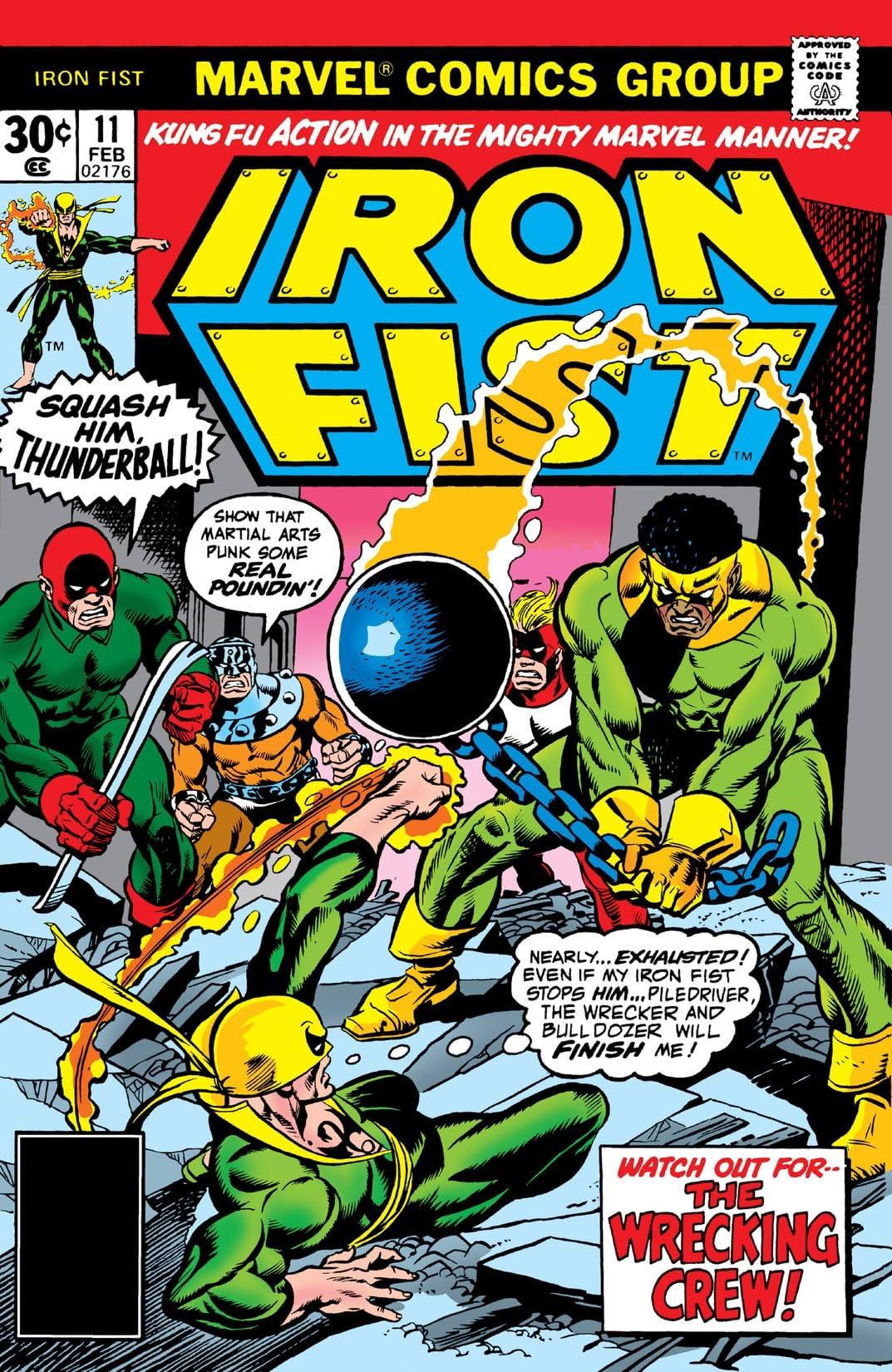 Iron Fist (1975-1977) #11
