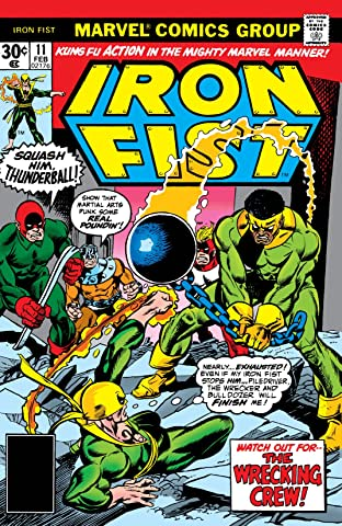 Iron Fist (1975-1977) No.11