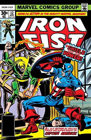 Iron Fist (1975-1977) No.12