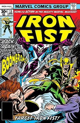 Iron Fist (1975-1977) #13
