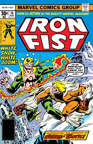 Iron Fist (1975-1977) No.14