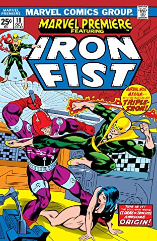 Marvel Premiere (1972-1981) No.18