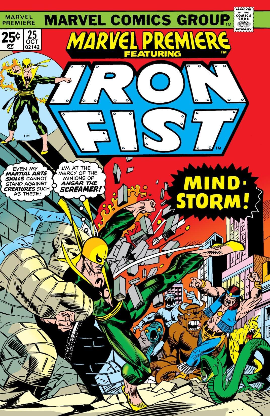 Marvel Premiere (1972-1981) #25