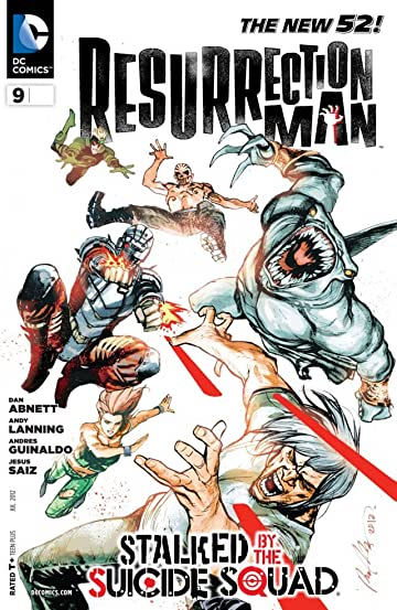Resurrection Man (2011-2012) #9