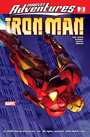 Marvel Adventures Iron Man (2007-2008) #3