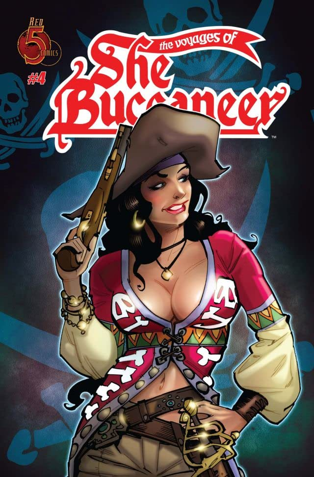 The Voyages of She-Buccaneer #4