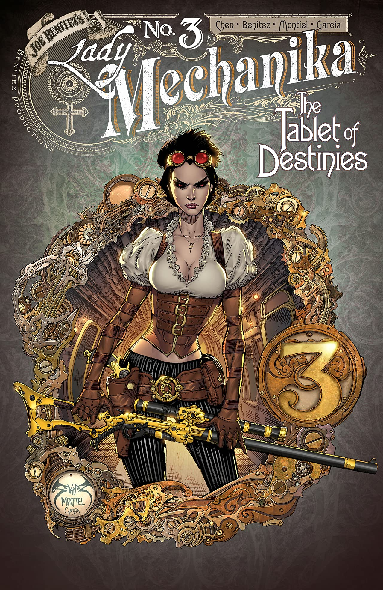 Lady Mechanika: The Tablet of Destinies #3
