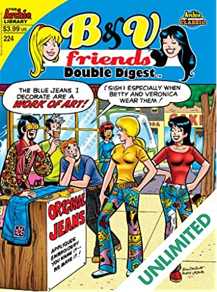 B & V Friends Double Digest #224