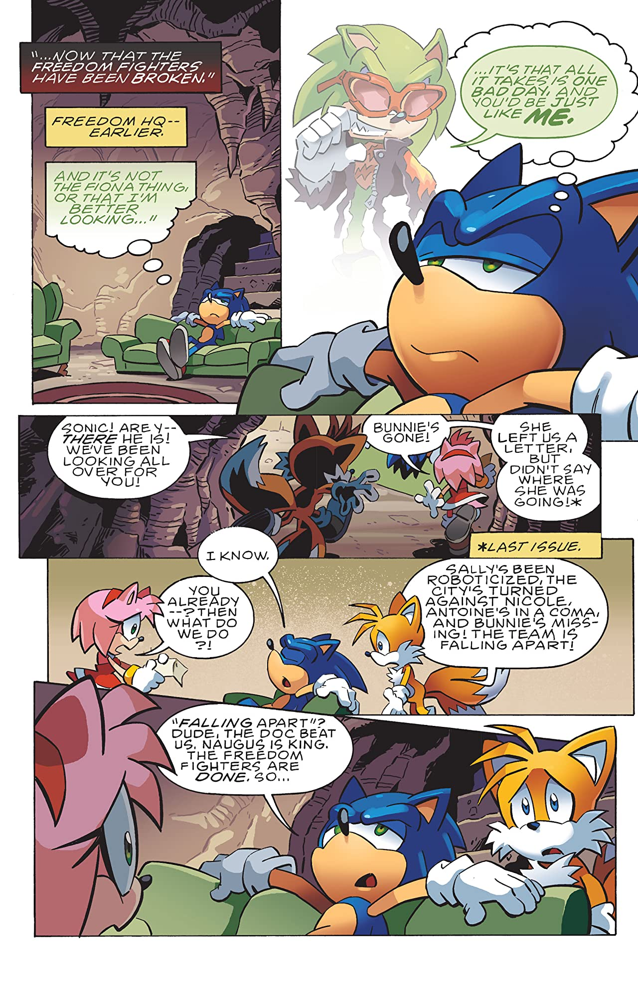 Sonic the Hedgehog #236