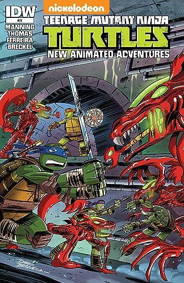 Teenage Mutant Ninja Turtles: New Animated Adventures #24