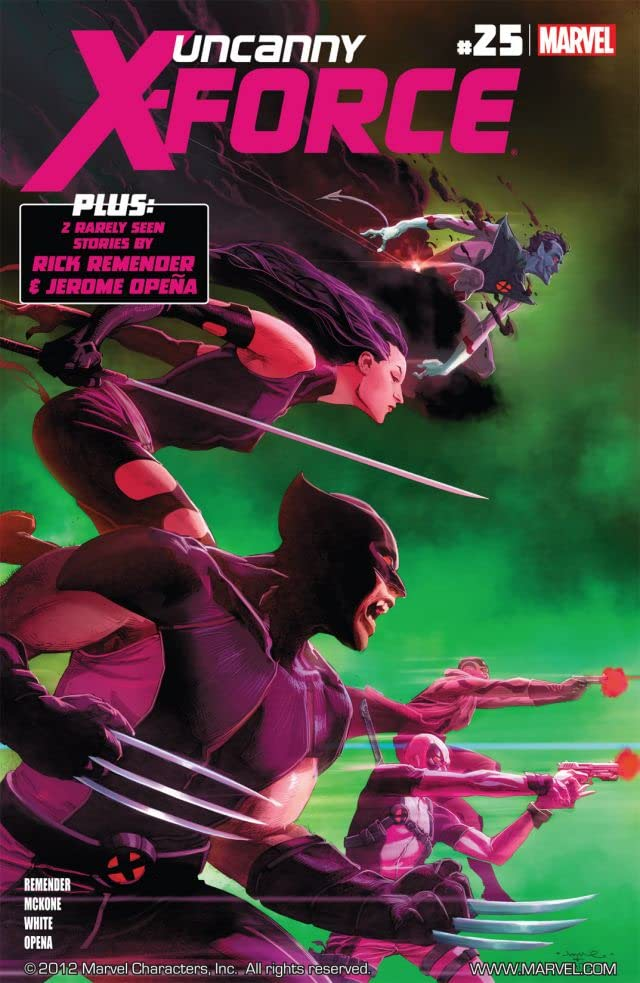 Uncanny X-Force (2010-2012) #25