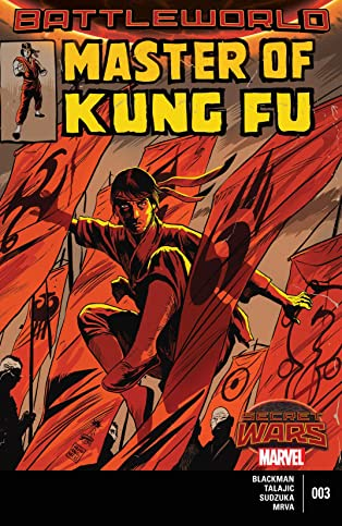 Master of Kung Fu (2015) #3 (of 4)