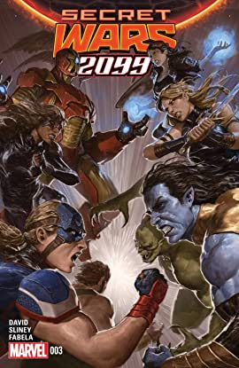 Secret Wars 2099 (2015) #3 (of 5)