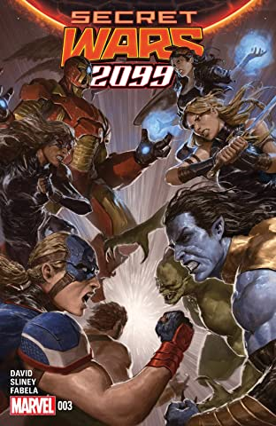 Secret Wars 2099 (2015) #3 (of 5)