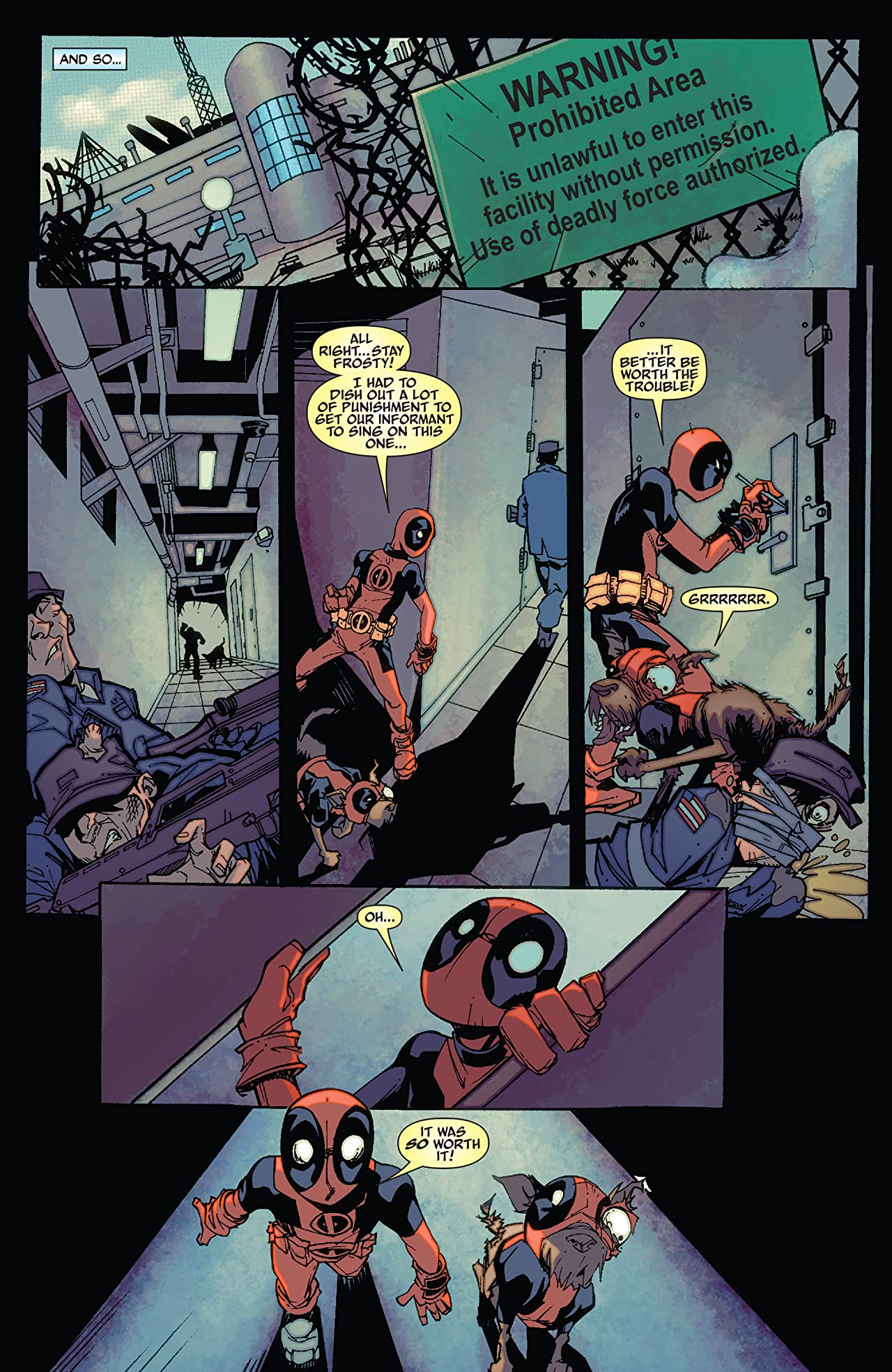Deadpool Family (2011) #1