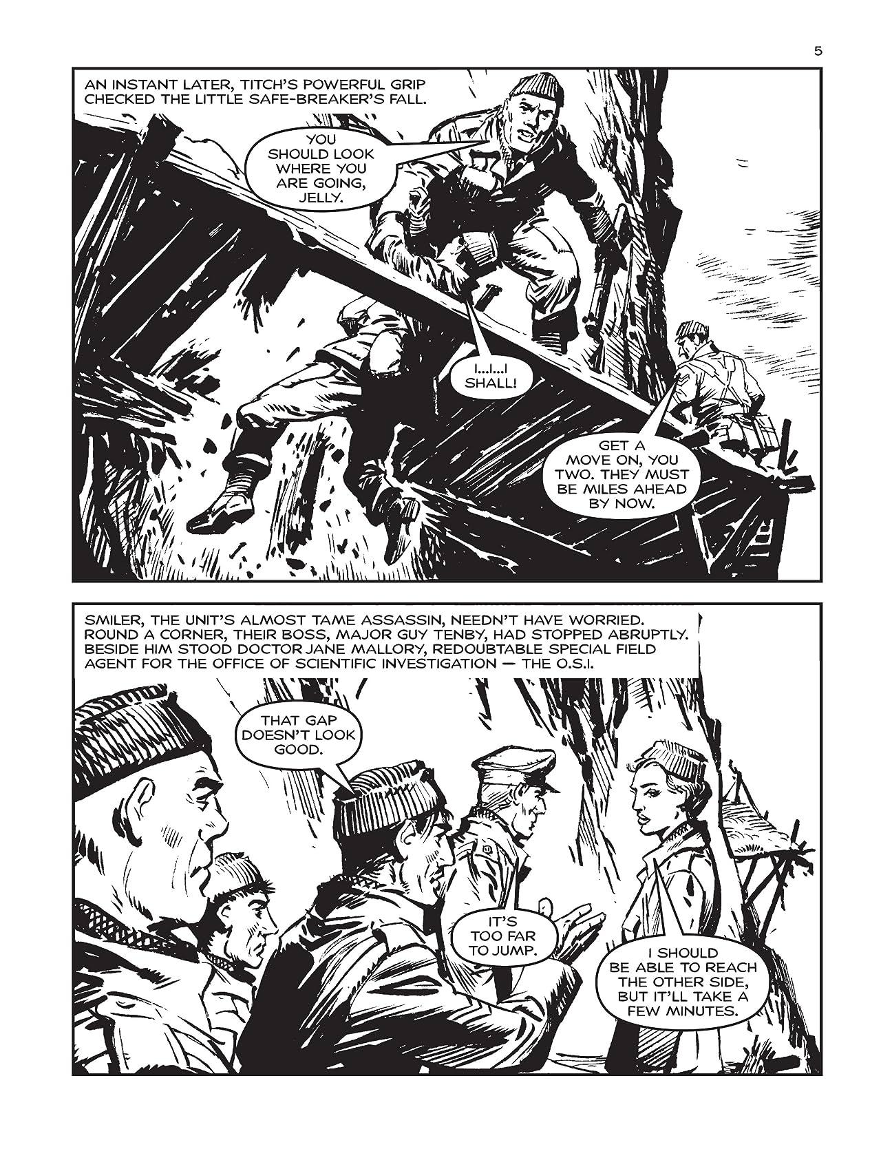 Commando #4819: Convict Commandos: Brilliant Death