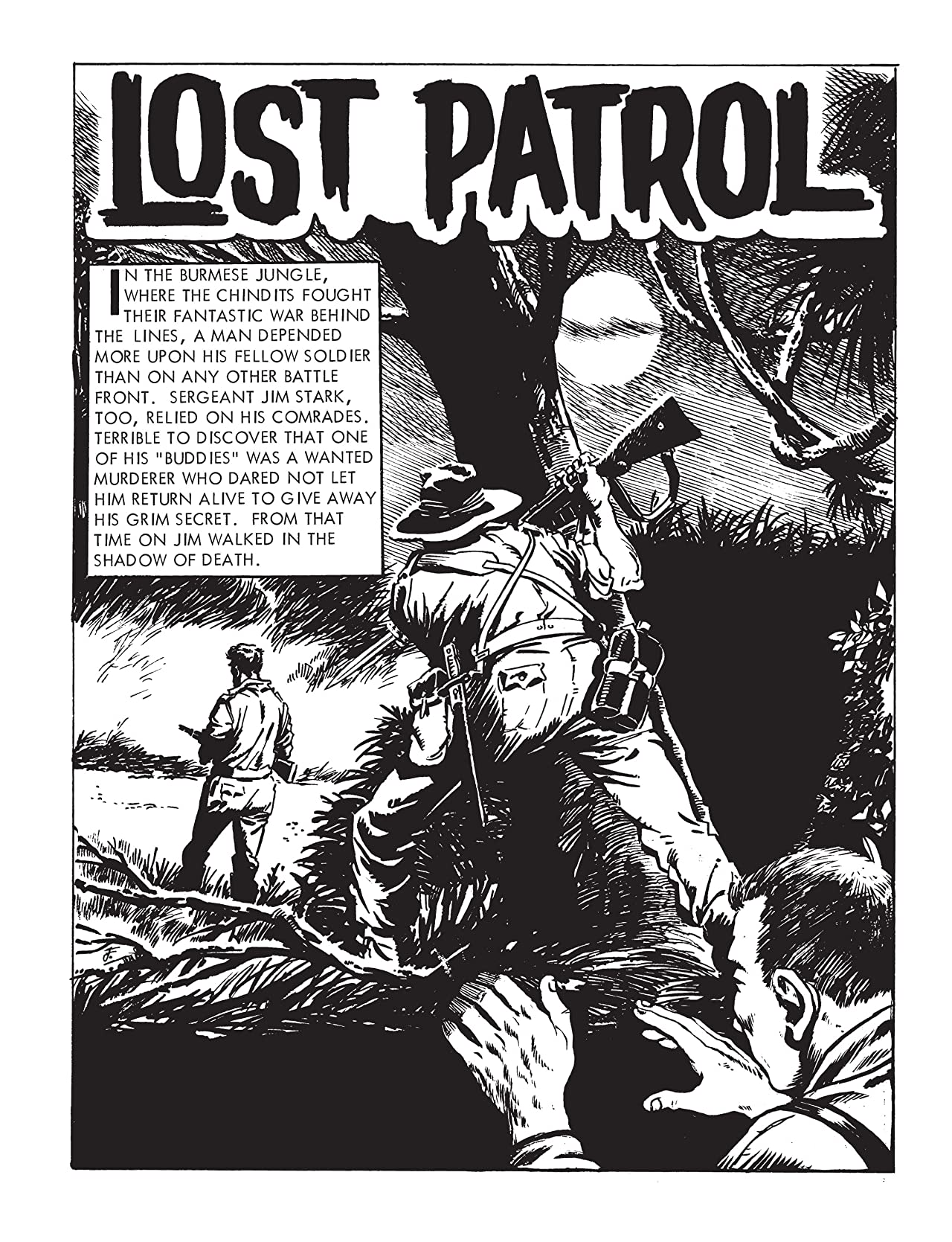 Commando #4820: Lost Patrol