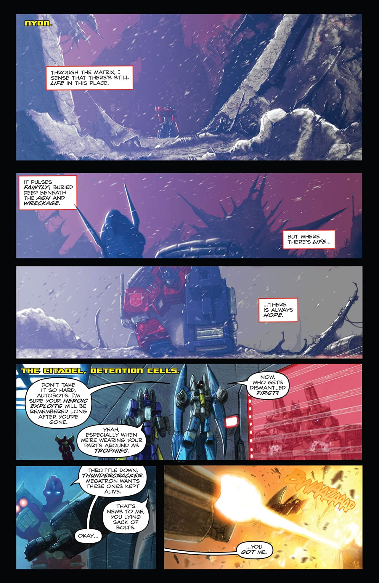 Transformers: Autocracy #10