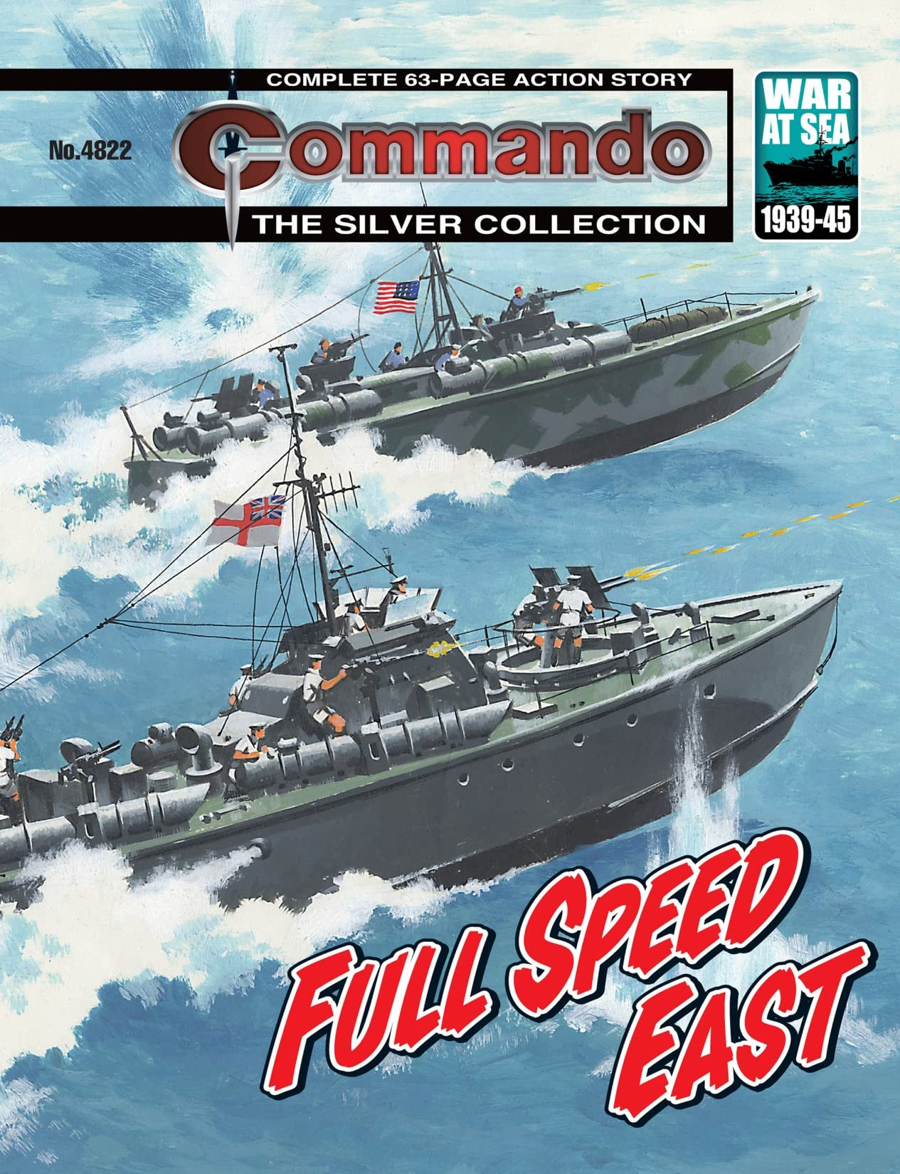 Commando #4822: Full Speed East
