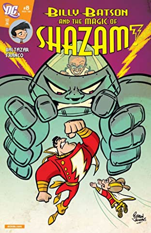 Billy Batson and the Magic of Shazam! No.8