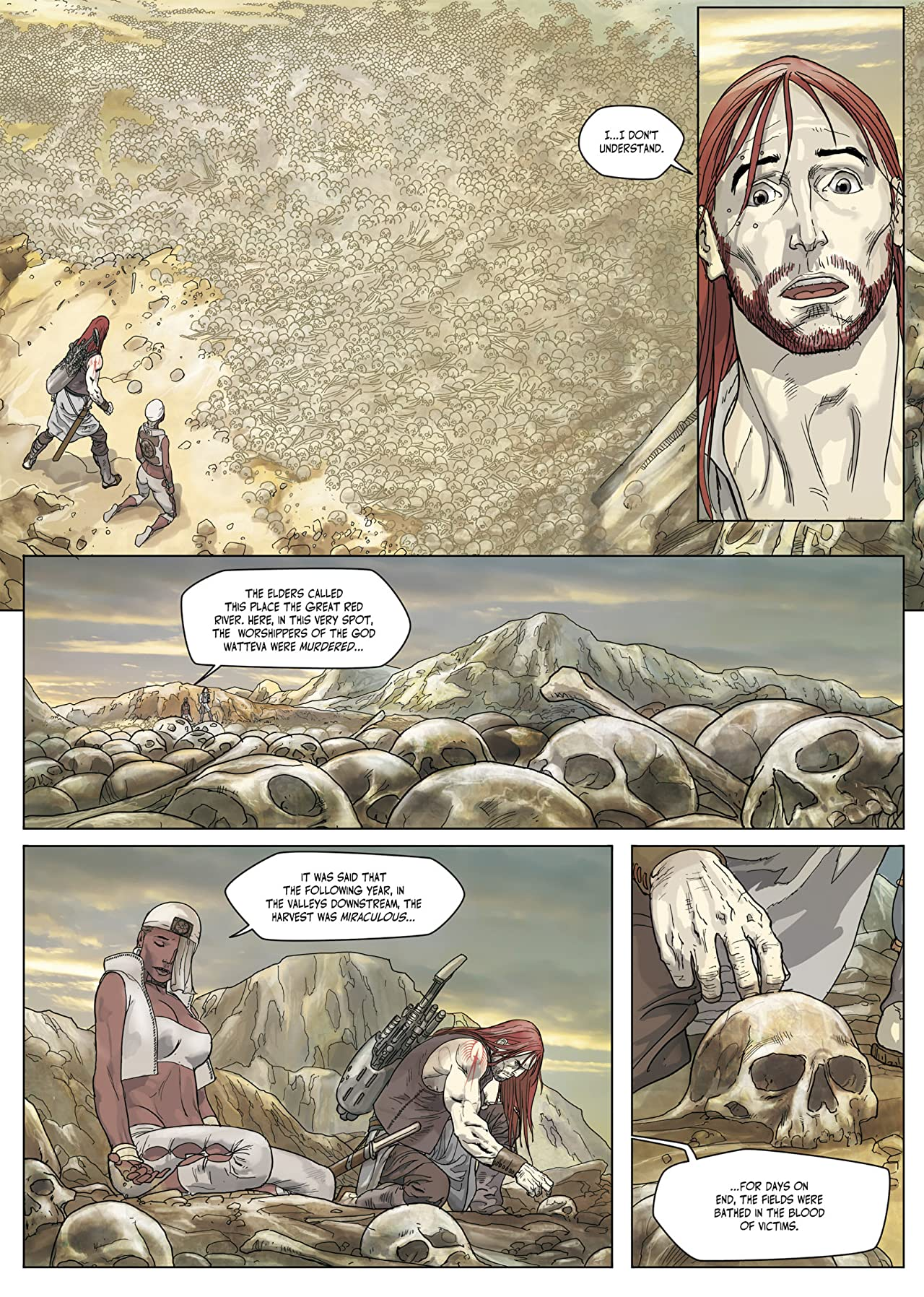 Redhand : Twilight of the Gods Vol. 3: Rise of the Prophet