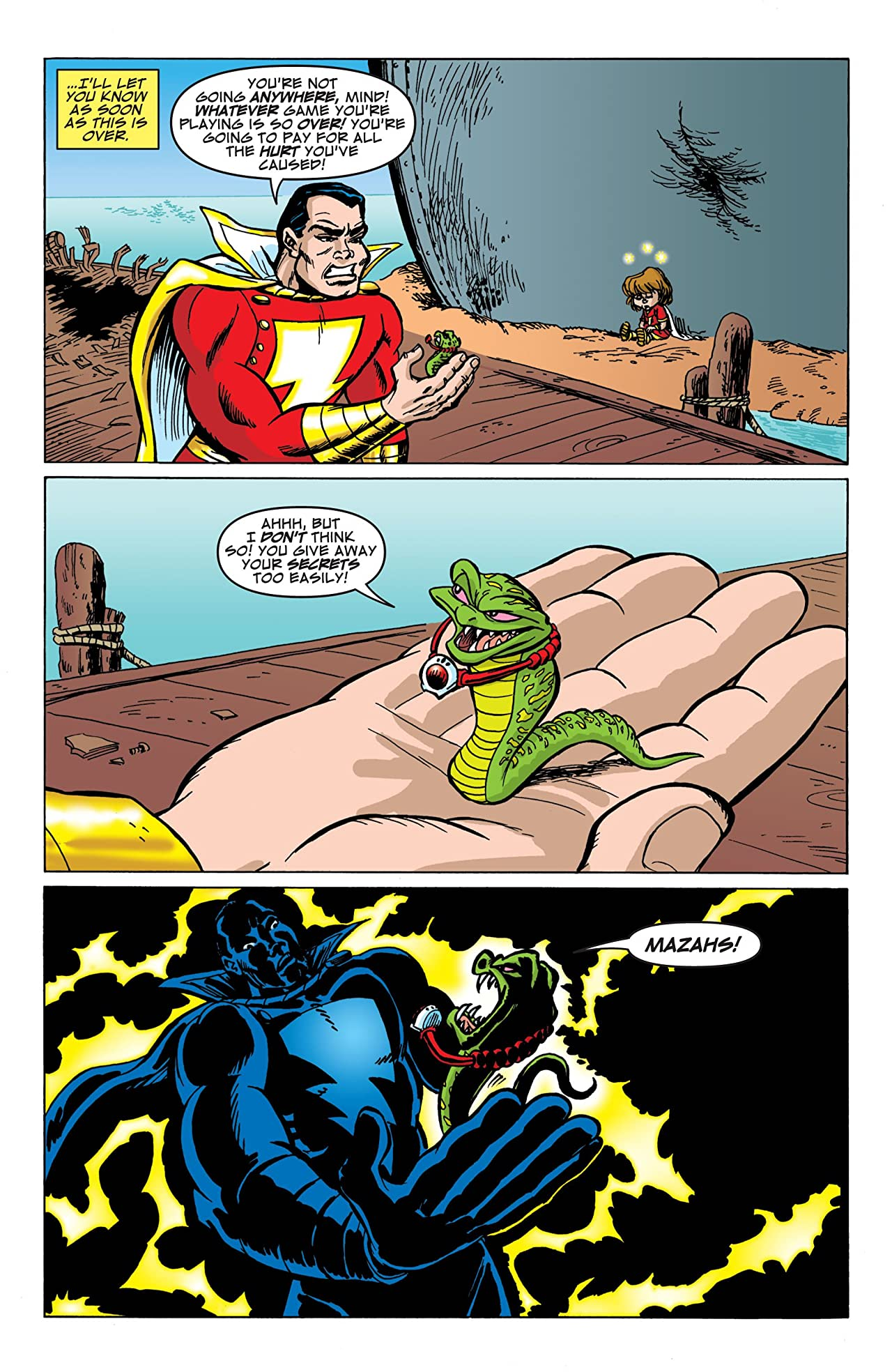Billy Batson and the Magic of Shazam! #12