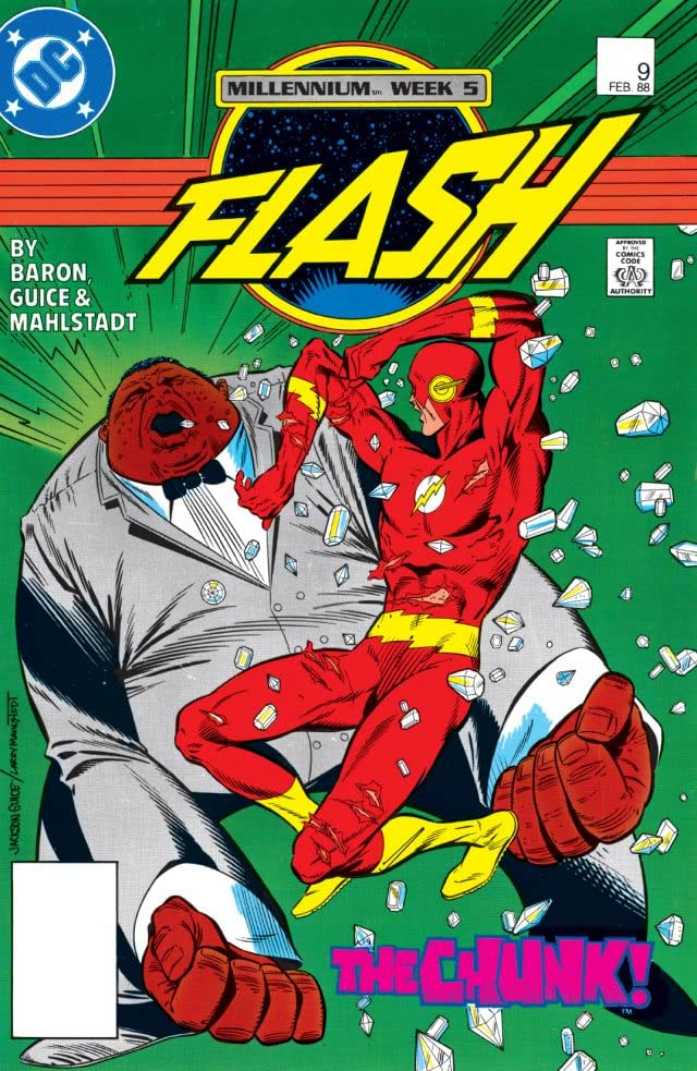 The Flash (1987-2009) #9